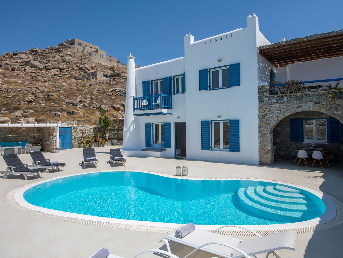 Stylish Stays Serene Villa Mykonos